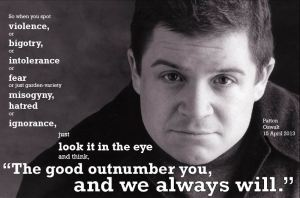 Patton Oswalt from Twitter